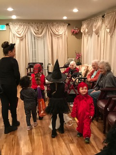 Halloween visitors 2017
